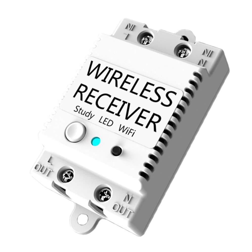 BoburyL WiFi-Schalter Receiver Smart Home Gadgets Wireless-Lichtschalter APP Steuerung 433MHz
