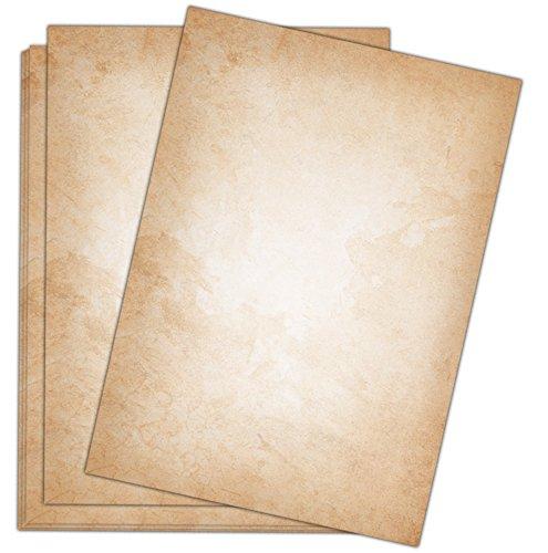 Carta da lettere Vintage/50fogli/DIN A4/120g/motivo stampato su entrambi i lati in stile raffinato -di Sophies Kartenwelt.