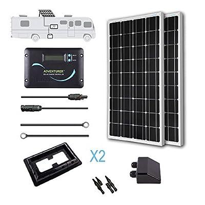 Renogy Monocrystalline Solar RV Kit