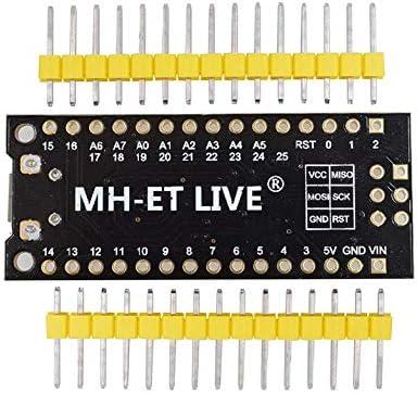 Robojax MH-Tiny ATTINY88 Development Bodule Nano v3.0 Micro USB 16MHZ