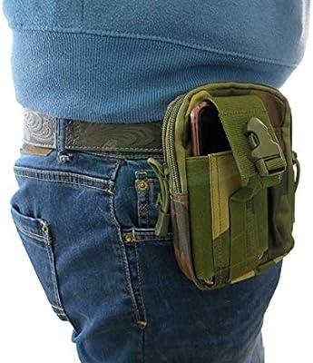 Funda Bolsa Riñonera Bolsa Cinturón de camuflaje militar para Smartphone cfg1: Amazon.es: Electrónica