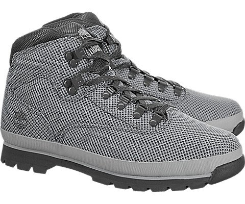 Timberland EURO Hiker Mens Gray Textile Hiking Lace Up Boots Shoes 11