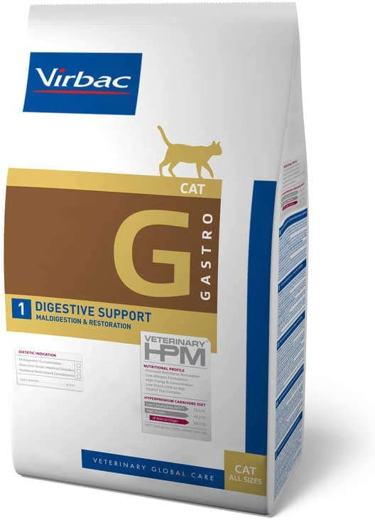 Veterinary Hpm Virbac Hpm Gato G1 Digestive Support 3Kg Virbac 01019 3000 g