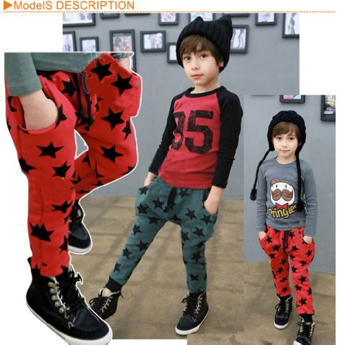 Little Hand Boys Stars Harem Trousers