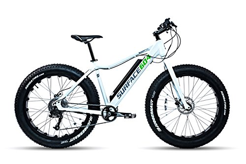 サーフェス604 Boar e350 Electric Fat Bike B015F1HM3Qグリーン Large