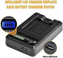 KAMERA Akku-Ladegerät MICRO USB für NIKON CoolPix EN-EL10