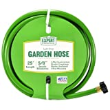 Expert Gardener 25' Light Duty Garden Hose, 5/8 Inside Diameter