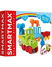 SmartMax SMX410 My First Animal Train Magnetic Toys (Set of 22)