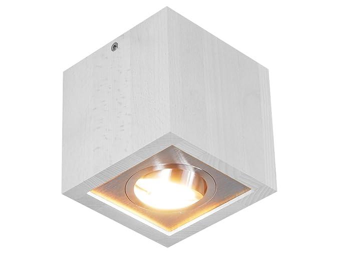 Plafoniere Con Spot : Plafoniera spot a soffitto led k weiß illuminazione