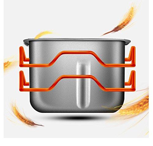 GCCI Máquina de Pan Inicio Totalmente Automático Inteligente Tubo Doble de Pollo Multifuncional Y Yogur Cara, Oro: Amazon.es