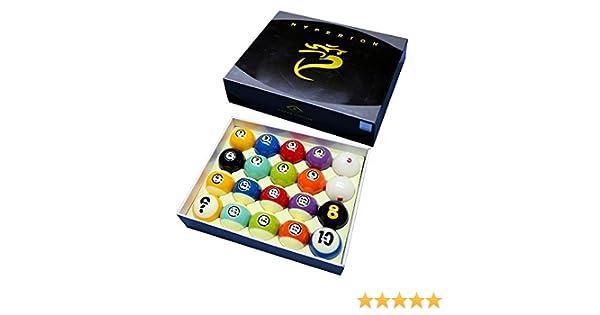 Cyclop Juego Bolas Pool Hyperion Tournament TV Set 57. 15mm 1 Set 20 Bolas: Amazon.es: Deportes y aire libre