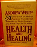 Health and Healing, Weil, Andrew, 0395362008