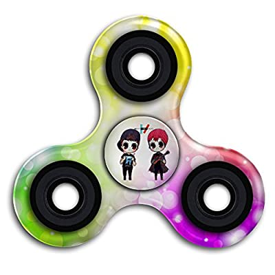 Okarfour Twenty One Pilots Womens T Shirt Hip Hop Tri Fidget Hand Spinner Finger Toy