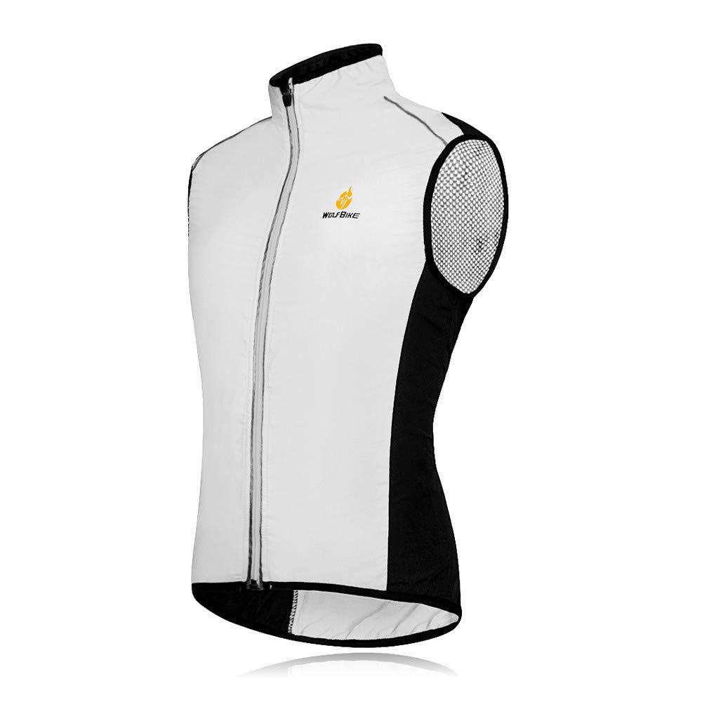 Wolfbike Cycling Jacket Jersey Vest Wind Coat Windbreaker Jacket Sportswear Outdoor