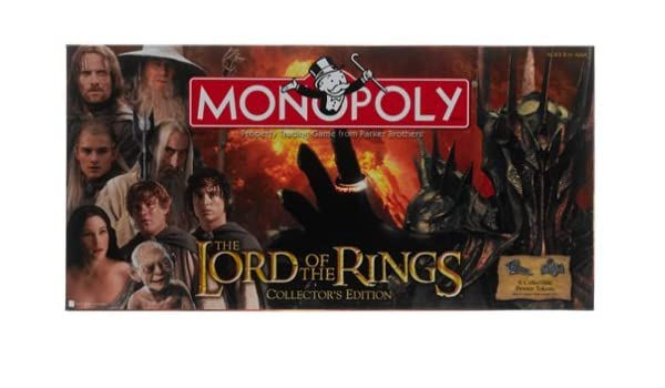 Lord of the Rings Monopoly by Monopoly: Amazon.es: Juguetes y juegos