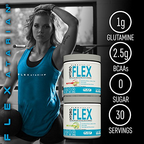 Flexatarian Hydro Flex, Natural Hydration Powder with BCAAs, Pineapple Mango, 30 Servings by Flexatarian (Image #6)