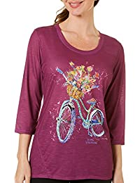 Womens Beach 'N Ride Print Top
