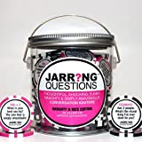 Jarring Questions: Naughty & Nice Edition Conversation Starter Game for Bachelorette Parties, Dinners and Fun Party Games