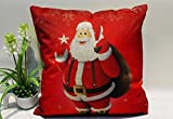 Tenworld Christmas Pillow Covers Decorative Sofa Bed Home Decoration Festival Pillowcase Cushion Cover 45x45 (A)