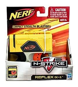 NERF N-Strike Reflex IX-1 Dart Blaster - Color: Amarillo