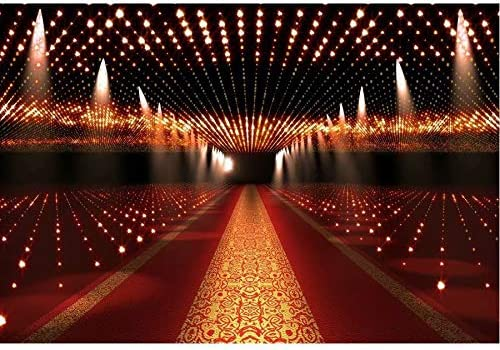 New Year Party red Auditorium Photography Background Glitter Bokeh Background Christmas Birthday Party Photo Banner Props