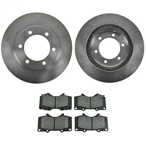 Front Premium Posi Metallic Brake Pad Rotor Kit for Toyota Truck SUV (Truck 4runner Front Brake Pads)