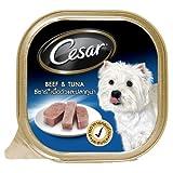 Cesar Canine Cuisine beef with Tuna flavor Dog food 3.5 Oz by Cesar