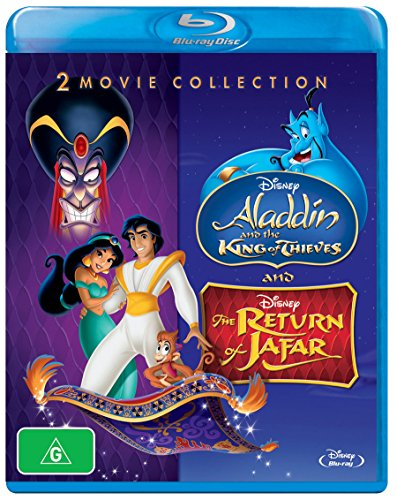 (Aladdin and the King of Thieves / Return of Jafar [Blu-ray])