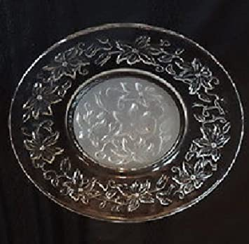 & Amazon.com | princess house FANTASIA LUNCHEON PLATE: Dinner Plates