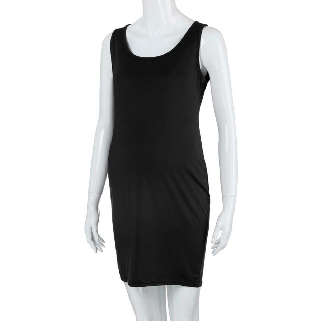 ShenPr Womens Summer Maternity Sleeveless Tank Dresses Mama Scoop Neck Baby Shower Vestido at Amazon Womens Clothing store: