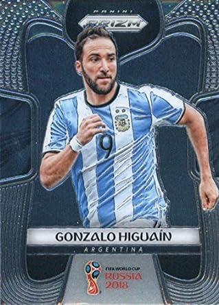 Amazon.com: 2018 Panini Prizm World Cup Soccer #5 Gonzalo ...
