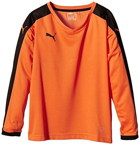 Lunghe Orange Puma black A Bambino Maglietta Maniche Team Da cAHqHTWfX