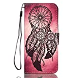 Samsung Galaxy S9 Case,AIIYG DS, [Kickstand Feature] Flip Folio Leather Wallet Case with ID and Credit Card Pockets Cover for Samsung Galaxy S9 /Dream Catcher