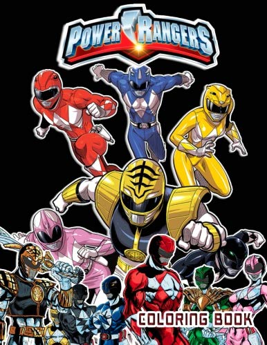 Power Rangers Coloring Book: 40 Coloring Pages