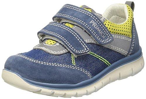Primigi Phl 7586, Zapatillas para Niños Azul (Azzur/denim/lim)