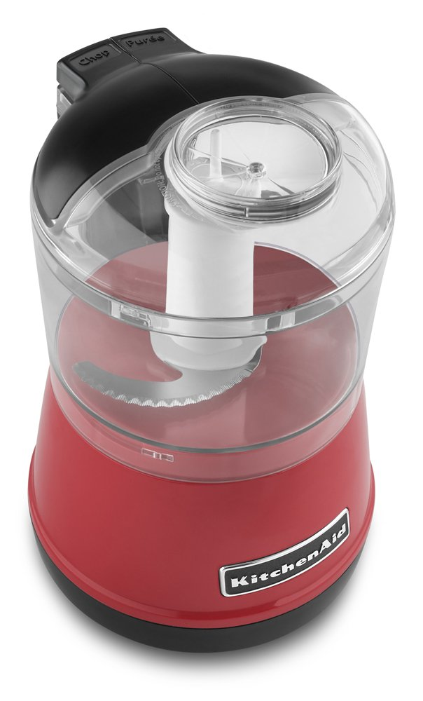 KitchenAid KFC3511BY 3.5-Cup Food Chopper - Boysenberry [Discontinued] KitchenAide Processor Small