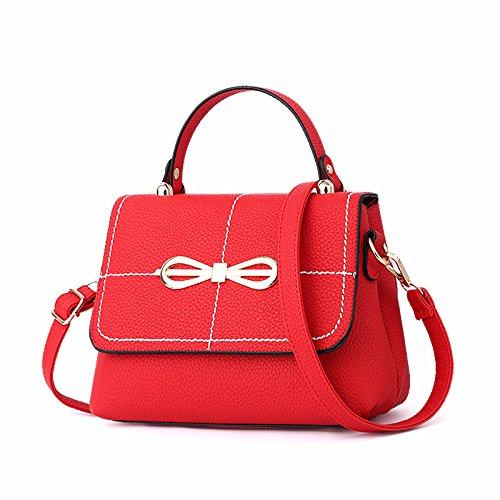 single Mini Bolsa Ala Wing Bolso shoulder Hombro red Solo Hombro GUANGMING77 Personalidad Naturals De aqw661