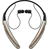 LG Electronics Tone Pro HBS-770 Stereo Bluetooth Headphones - Retail Packaging - Gold