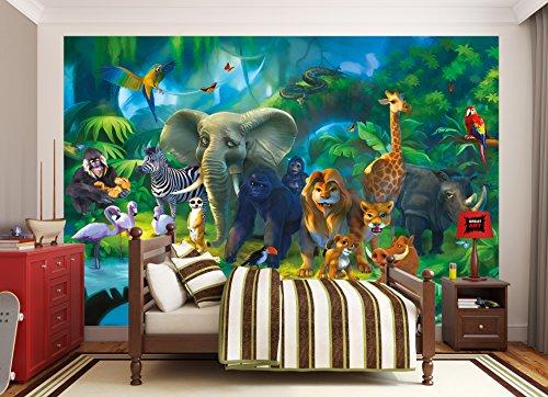 Great Art Wall Mural Jungle Animals Childrens Room Animal
