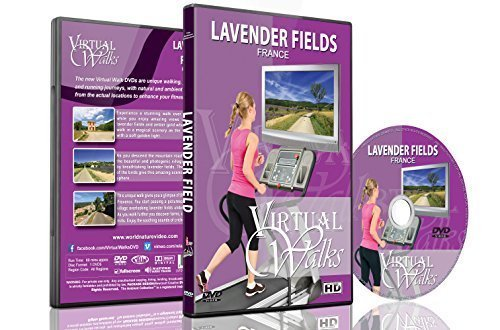 - Virtual Walks - Lavender Fields, France for Indoor Walking, Treadmill and Cycling Workouts