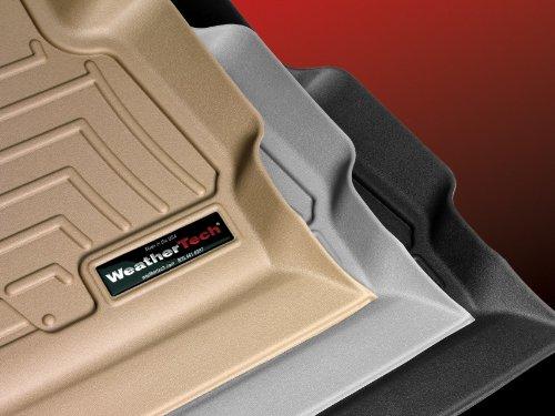 WeatherTech Custom Fit FloorLiner-Toyota Fortuner-2013-1st & 2nd Row Grey