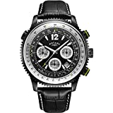 Rotary Gents Exclusive Pilot Chronograph Watch GS00649/19