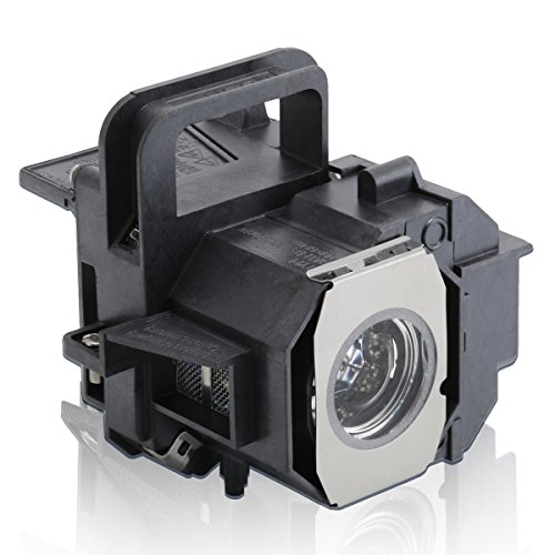 ESolid V13H010L49 Replacement Projector Lamp for Epson ELPLP49, PowerLite Home Cinema 8350/8345/ 8700UB/ 6100/ 6500UB/ 9700UB, Pro Cinema 7100/ 7500UB/ 9100/9350/ 9500UB/ 9700UB by ESolid
