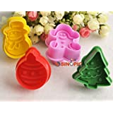 ZNU CAKE Christmas Plunger and Cutter