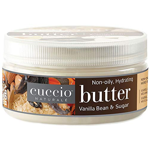 Cuccio Body Butter Vanilla Bean and Sugar 8 Oz
