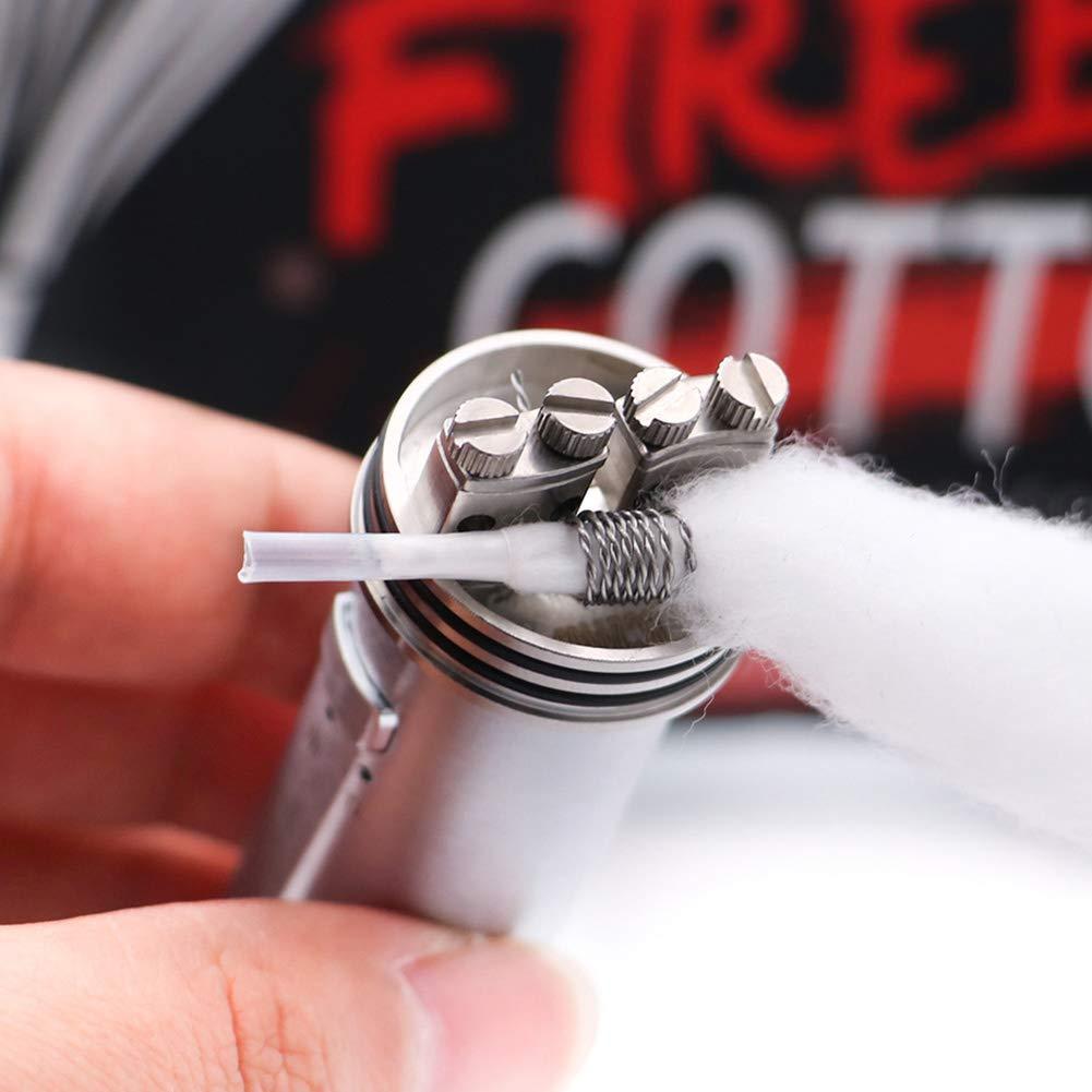 Vapefly Firebolt Cotton Wick Material 100% Algodón orgánico para la construcción de bobinas Amantes de bricolaje RTA/RDA / RDTA Repuesto (20Pcs / ...