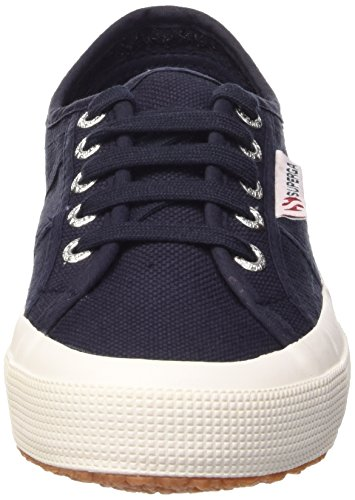 Superga 1705 Cotu - Zapatillas Unisex adulto Azul (Navy/White)