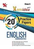 Xam Idea 20 Plus Practice paper English for 2018 Exam