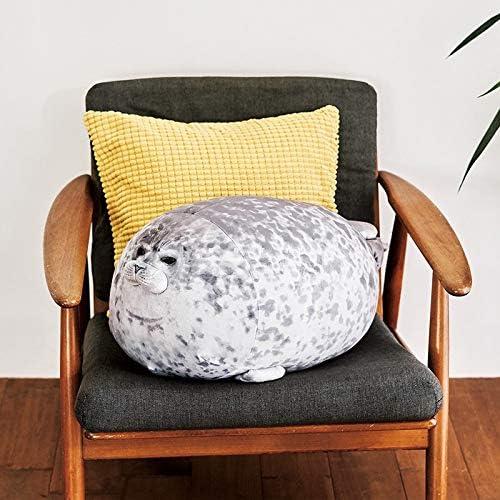 Ruita Blob Seal Shape Pillows Stuffed Plush Toy 30cm Soft and Hugable Sea Animal Cushion Home Decoration Perfect Birthday