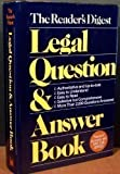 Legal Question and Answer Book, Reader's Digest Editors, 0895772914